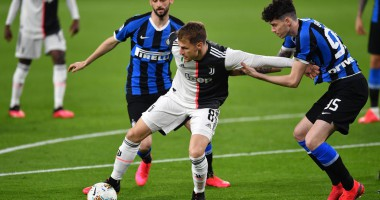 Ювентус - Интер 2:0 видео голов и обзор матча Серии А