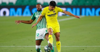 Бетис - Вильярреал 0:2 видео голов и обзор матча чемпионата Испании