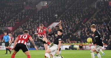 Шеффилд Юнайтед - Манчестер Юнайтед 3:3 видео голов и обзор матча АПЛ