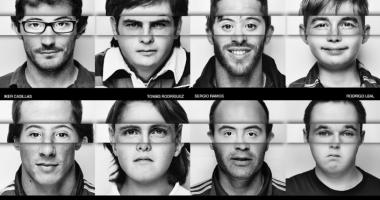 Испанские футболисты поддержали людей с синдромом Дауна