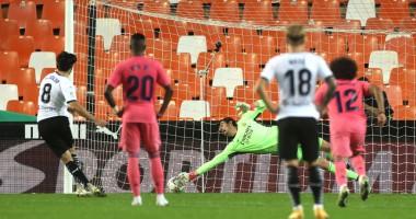 Валенсия - Реал 4:1 видео голов и обзор матча чемпионата Испании