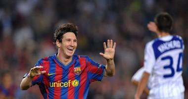 Барселона включила гол Месси Шовковскому в число лучших забитых мячей со штрафных