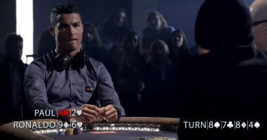 Роналду сразился в покер со звездой американского сериала