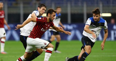Милан - Аталанта 1:1 видео голов и обзор матча чемпионата Италии