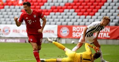 Бавария - Фрайбург 3:1 видео голов и обзор матча Бундеслиги