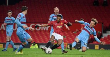 Манчестер Юнайтед - Вест Хэм 1:0 Видео гола и обзор матча Кубка Англии