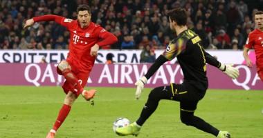 Бавария - Боруссия Д 4:0 видео голов и обзор матча чемпионата Германии