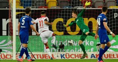 Фортуна - Шальке 2:1 видео голов и обзор матча Бундеслиги