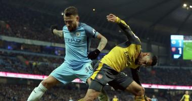 Манчестер Сити - Арсенал 2:1 Видео голов и обзор матча чемпионата Англии