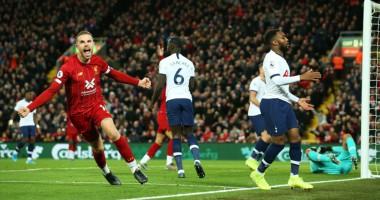 Ливерпуль - Тоттенхэм 2:1 видео голов матча чемпионата Англии