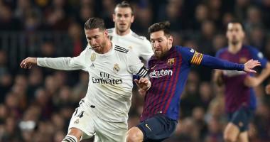 Реал - Барселона: видео онлайн трансляция матча Кубка Испании