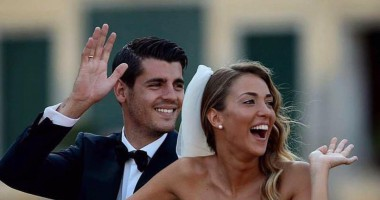 Игрок Реала женился на своей сексуальной девушке