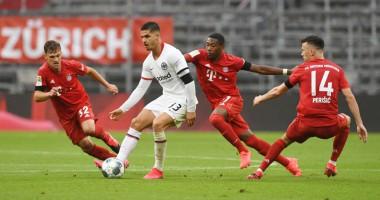 Бавария - Айнтрахт 5:2 видео голов и обзор матча чемпионата Германии