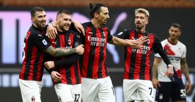 Милан - Кротоне 4:0 Видео голов и обзор матча Серии А