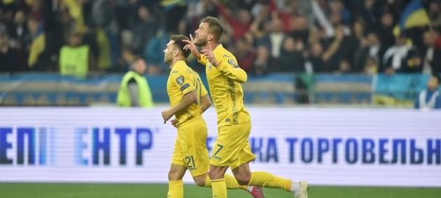 Сборная Украины с первого места вышла на Евро-2020, обыграв Португалию
