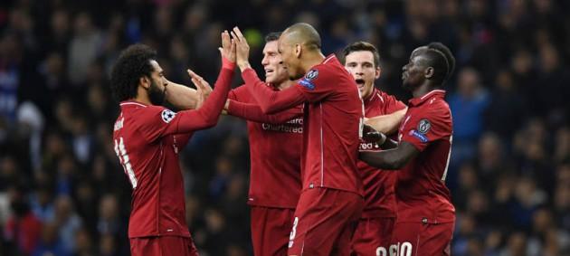 Ливерпуль не заметил Порту и пробился в полуфинал Лиги чемпионов