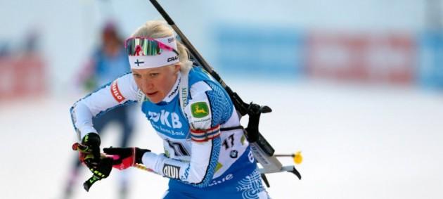 Макаряйнен выиграла гонку преследования