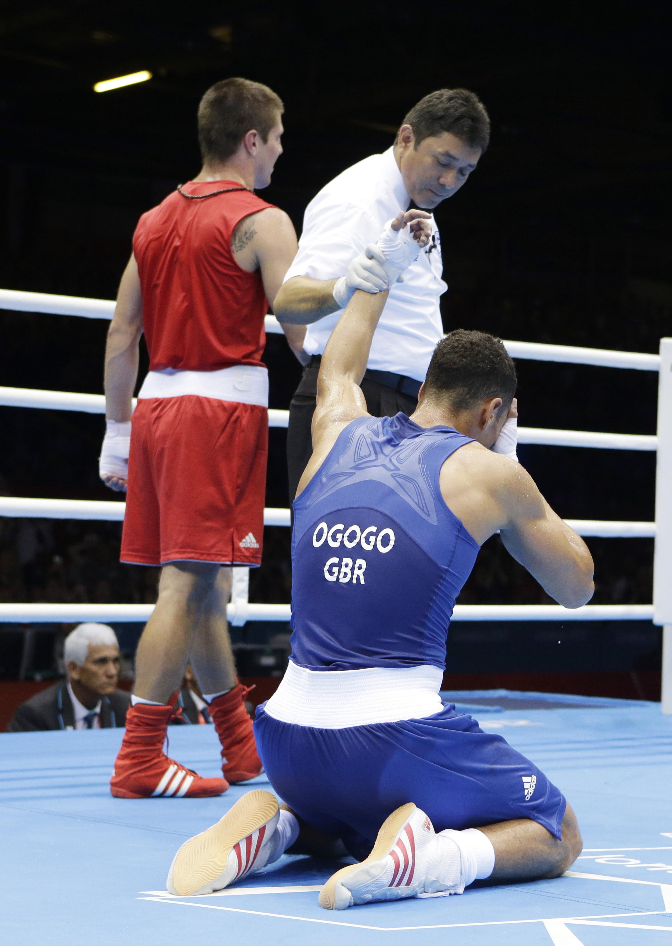 Британский бокс поднимается с колен