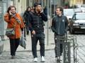 Игроки Шахтера прогулялись по Львову перед матчем с Металлистом