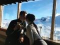 Роналду провел день в горах со своей возлюбленной