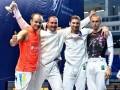 Украинские фехтовальщики завоевали бронзу на чемпионате Европы