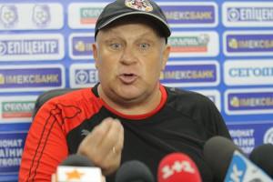Виталий Кварцяный недоволен уровнем своих игроков