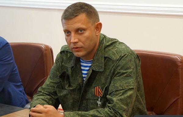 Захарченко верит в силу сборной ДНР по футболу