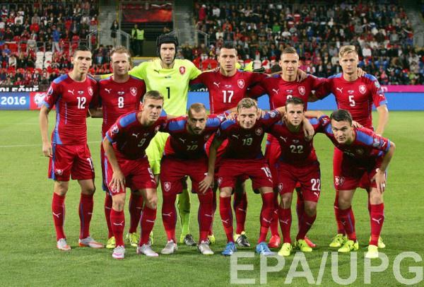 Сборная Чехии - участник Евро-2016