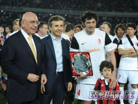 Каха Каладзе провел свой прощальный матч