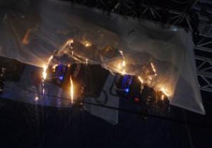 МЧС обнародовало подробности возгорания во время открытия НСК Олимпийский