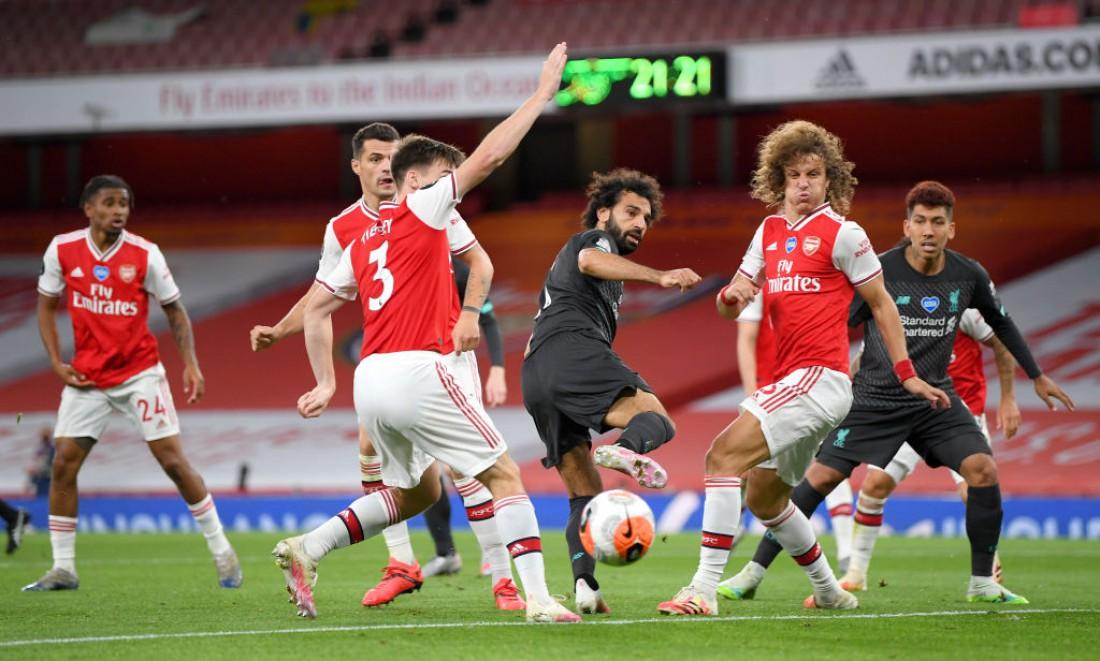 Арсенал - Ливерпуль: фото с матча
