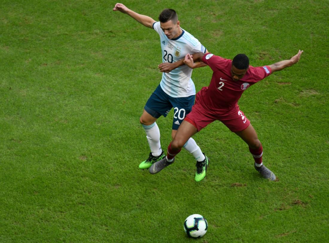 Аргентина победила Катар