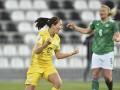 Сборная Украины уступила Северной Ирландии в отборе на женский Евро-2022