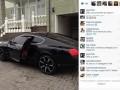 Форвард Металлиста похвастался новой машиной за 200 тысяч евро (ФОТО)