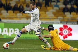 Динамо уверенно разгромило Тун в Лиге Европы