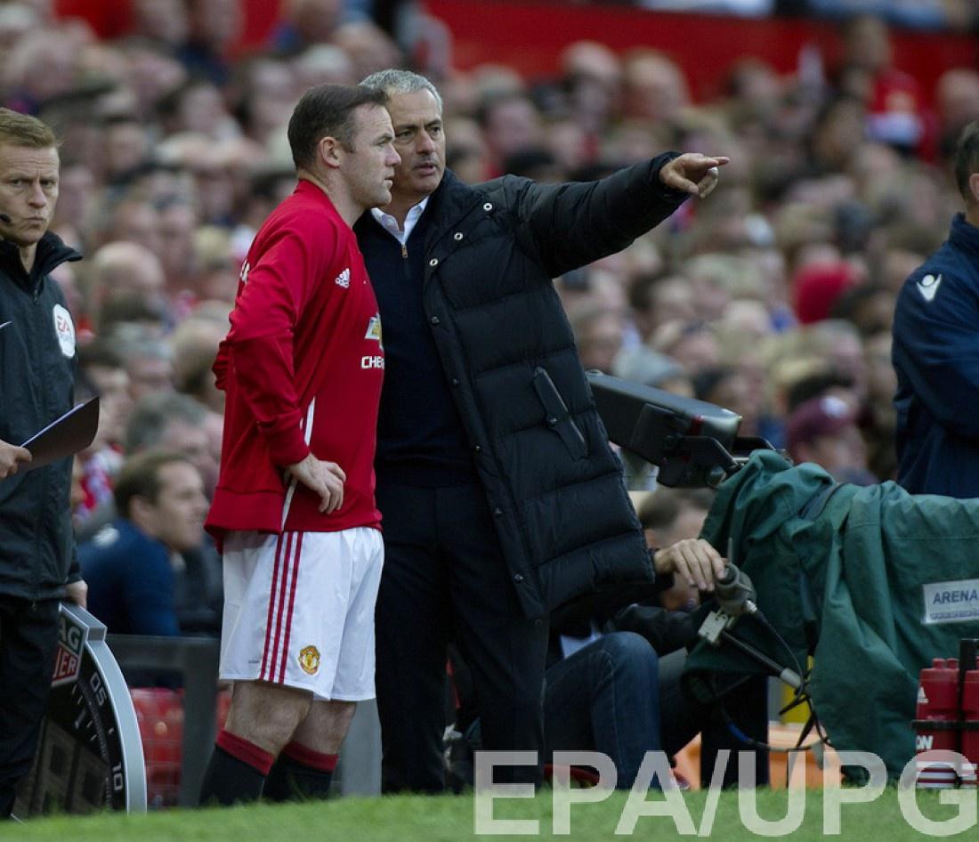 Моуринью попросил Руни уйти из«Манчестер Юнайтед»
