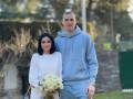 Лунин женился на своей возлюбленной, придя на церемонию в спортивном костюме