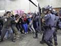 Перед матчем открытия чемпионата мира по футболу работники метро парализовали город