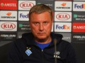 Хацкевич стал лучшим тренером 19-го тура чемпионата Украины