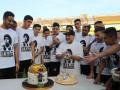 Марадоне в честь дня рождения подготовили два торта - в один легенду окунули лицом