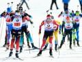 Биатлон: Украинцы финишировали шестыми в смешанной эстафете в Солт-Лейк-Сити