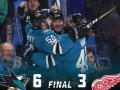НХЛ: Детройт разбит в матче с Сан-Хосе и другие матчи дня
