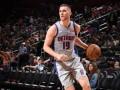 Украинцы в НБА: Михайлюк попал в стартовый состав Детройта, Лень не набрал очков