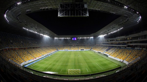 Арена Львов дисквалифицирована на отбор к ЧМ-2018