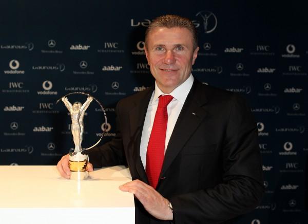 Сергей Бубка на церемонии вручения Laureus World Sports Awards 2010