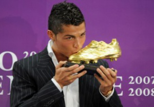Криштиано Роналдо выиграл Золотую бутсу