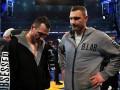Виталий Кличко едва не подрался с Энтони Джошуа