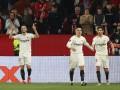 Севилья первой вышла в 1/8 финала Лиги Европы, всухую разгромив Лацио