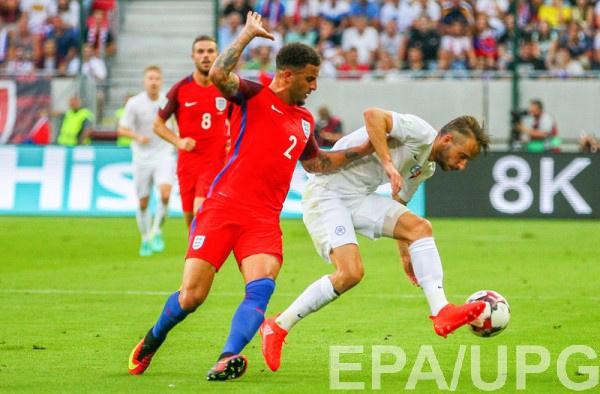 Англия вырвала победу над Словакией
