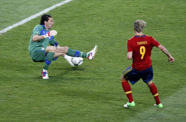 Торрес стал лучшим бомбардиром Евро-2012